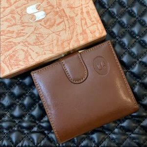 🆕Vintage Brown Leather Retro Coin Wallet